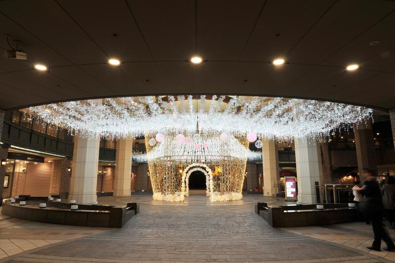 "Fertival of the lights in OSAKA,Tenma & Sakuranomiya area,""Eregance of the lights"" at OSAKA AMENITY PARK,Sakurahiroba"