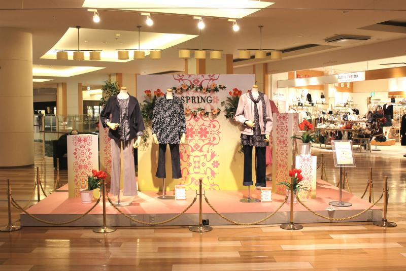 TRESSA YOKOHAMA Spring season display