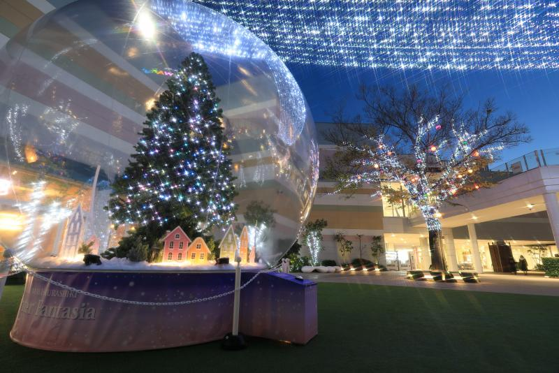 AEON MALL KURASHIKI  Winter Fantasia ~Blue Bird of WAKU WAKU village~